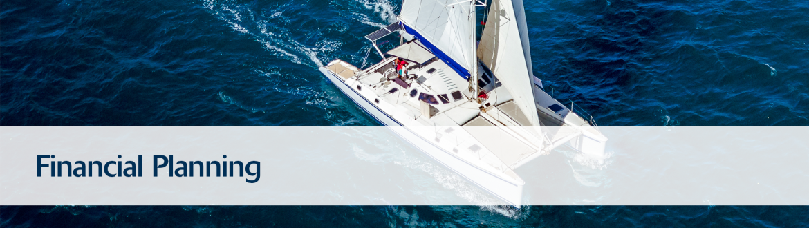 Boat Sailing representing Financial Planning or Financial Advice Services with Southern Charter Financial Services